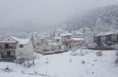 Χιόνια στη Βόρεια Ελλάδα από αργά το βράδυ