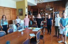 Στην αντιπεριφερειάρχη ΠΕΜΣ μαθητές του Γυμνασίου Ευξεινούπολης