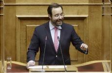 Πυρά Μαραβέγια κατά ΣΥΡΙΖΑ στην Ολομέλεια της Βουλής για την Παιδεία