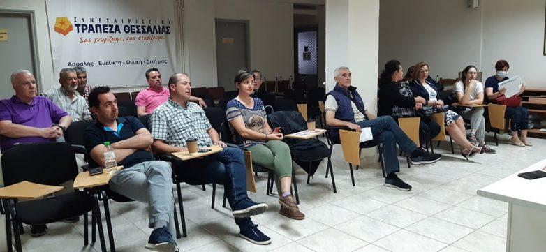 Συνάντηση ΟΕΒΕΜ με αγγειοπλάστες -κεραμίστες και ιδιοκτήτες ενοικιαζομένων δωματίων & ξενώνων