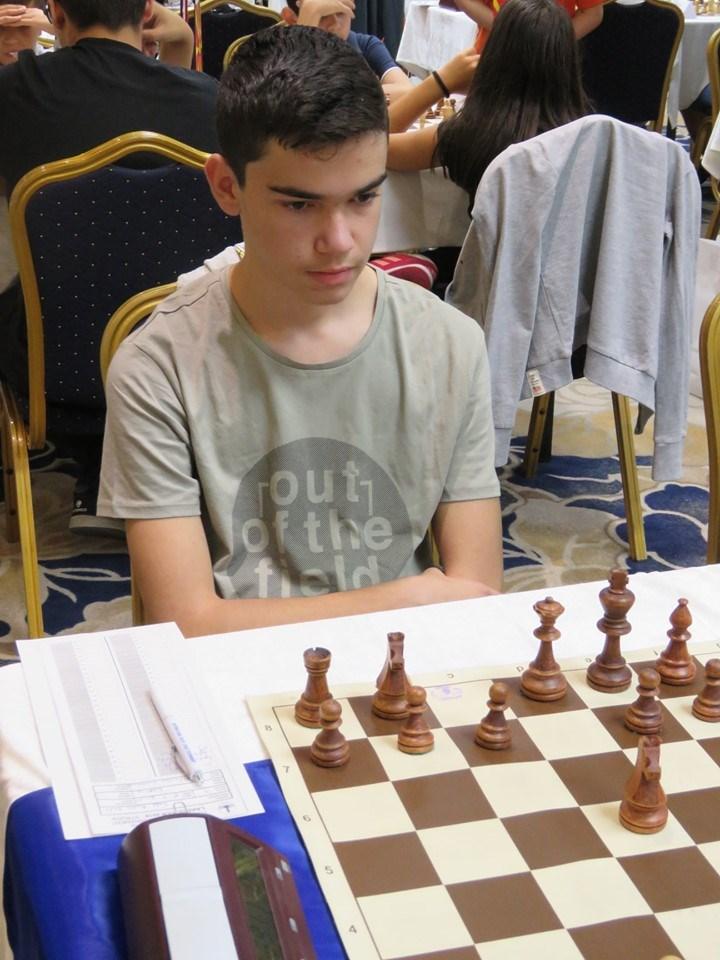Πρόκριση του Εμμ. Ραφτόπουλου στο Πανευρωπαϊκό Σκακιστικό Online Πρωτάθλημα