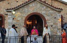 Τιμήθηκε η Παναγία Ζωοδόχος Πηγή στον λόφο της Γορίτσας