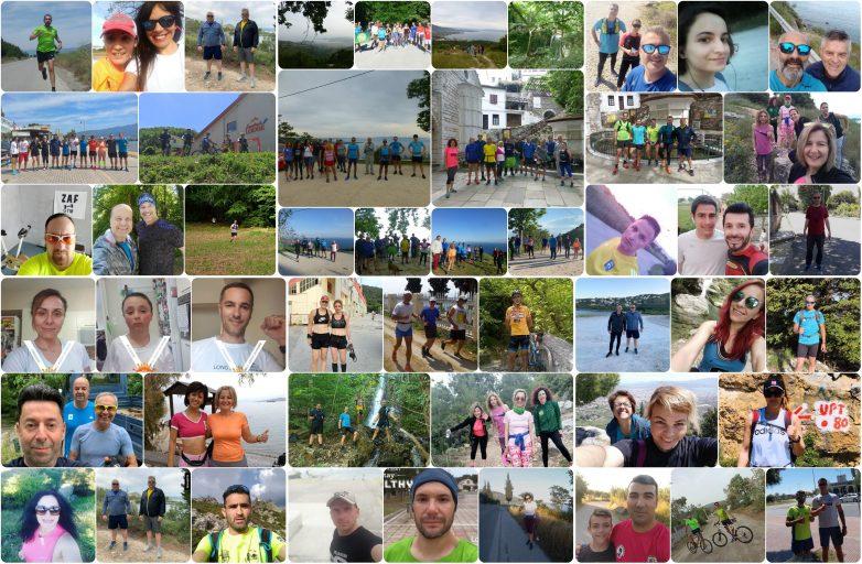 Το τρέξιμο, οι πεζοπορίες και το κοινωνικό έργο δεν σταματούν ποτέ για τον Σύλλογο Δρομέων Υγείας Βόλου
