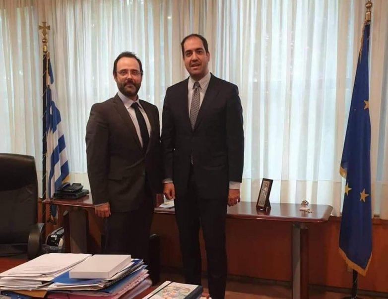 Δέσμευση του Υφυπουργού Υποδομών στον Κων. Μαραβέγια για χρηματοδότηση του Δήμου Ρήγα Φεραίου με 1 εκατ. ευρώ
