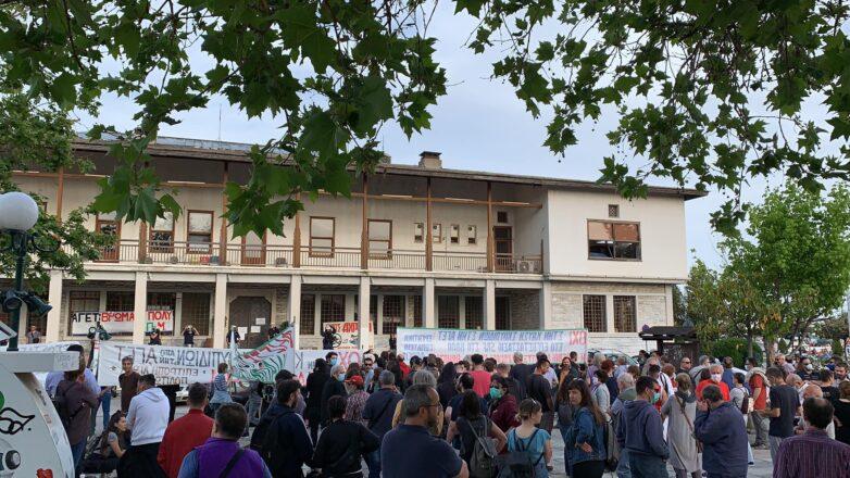 Συνέλευση Πολιτών κατά της Καύσης Σκουπιδιών στην Πλατεία Ελευθερίας