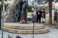 Το τμήμα ποδηλασίας της Νίκης Βόλου στην εκδήλωση μνήμης για την Γενοκτονία των Ποντίων