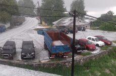 Έντονη χαλαζόπτωση έπληξε τον Δήμο Ζαγοράς-Μουρεσίου