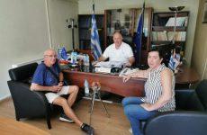 Επί τάπητος τα ζητήματα αχλαδοπαραγωγώντου Δήμου Ρήγα Φεραίου