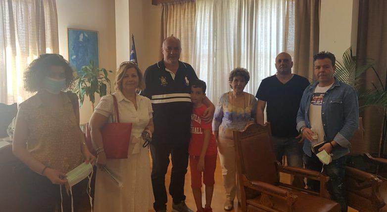 Συνάντηση Δήμου Βόλου & Σωματείου Μισθωτών Κυλικείων Δημόσιων Σχολείων  Μαγνησίας