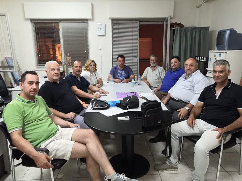 Συνάντηση ΟΕΒΕΜ με Ένωση Λαϊκών Αγορών «Γόρδιος Δεσμός»