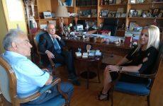 Επίσκεψη πρέσβη του Ισραήλ σε αντιπεριφερειάρχη ΠΕΜΣ και μητροπολίτη Ιγνάτιο