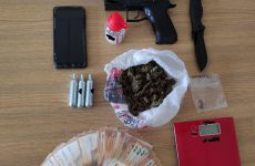 Συνελήφθησαν στο Βόλο για παραβάσεις περί ναρκωτικών και όπλων
