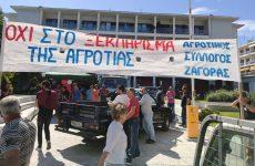 Μέτρα προστασίας ζητούν οι πληγέντες αγρότες του Πηλίου