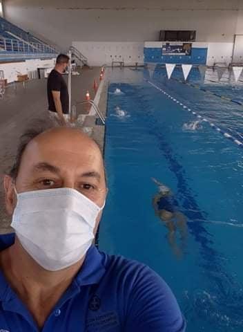 Επανεκκίνηση προπονήσεων Αγωνιστικής-Προαγωνιστικής ομάδας του τμήματος κολύμβησης της Νίκης Βόλου
