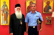 Στον μητροπολίτη ο νέος δ/κτής των Πυροσβεστικών Υπηρεσιών Μαγνησίας