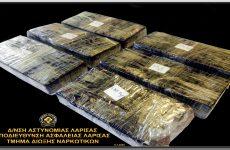 Με πάνω από τρία κιλά ηρωίνης συνελήφθησαν στη Λάρισα