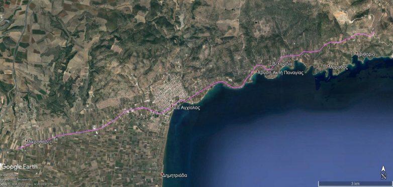 Δημοπρατείται από την Περιφέρεια Θεσσαλίας η μελέτη του δρόμου Μικροθήβες-Μπουρμπουλήθρα