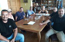 Στην αντιπεριφερειάρχη ΠΕΜΣ εκπρόσωποι του Σωματείου Εκπαιδευτών Υποψηφίων Οδηγών Μαγνησίας