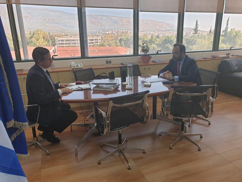 Συνάντηση Κων. Μαραβέγια- γ.γ. Περιβάλλοντος για  αέρια ρύπανση, καύση RDF από την ΑΓΕΤ και εργοστάσιο SRF