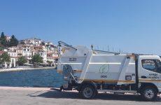 Ανανεώνεται συνεχώς ο στόλος των οχημάτων καθαριότητας στη Σκιάθο