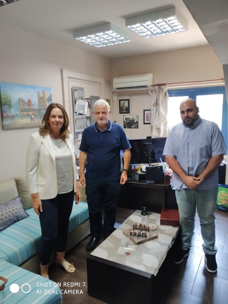 Συνάντηση Κατερίνας Παπανάτσιου στο Πανεπιστήμιο Θεσσαλίας για την ατμοσφαιρική ρύπανση στην πόλη του Βόλου