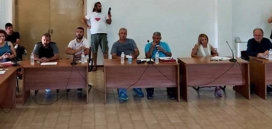 Ο Αλέξανδρος Μεϊκόπουλος στο Νότιο Πήλιο για τις ανεμογεννήτριες
