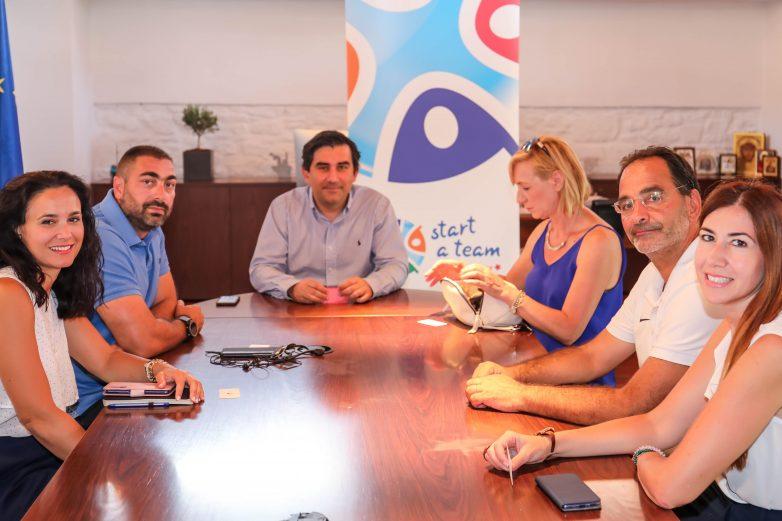 Η ομάδα των Special Olympics Hellas επισκέπτεται τη Σκιάθο