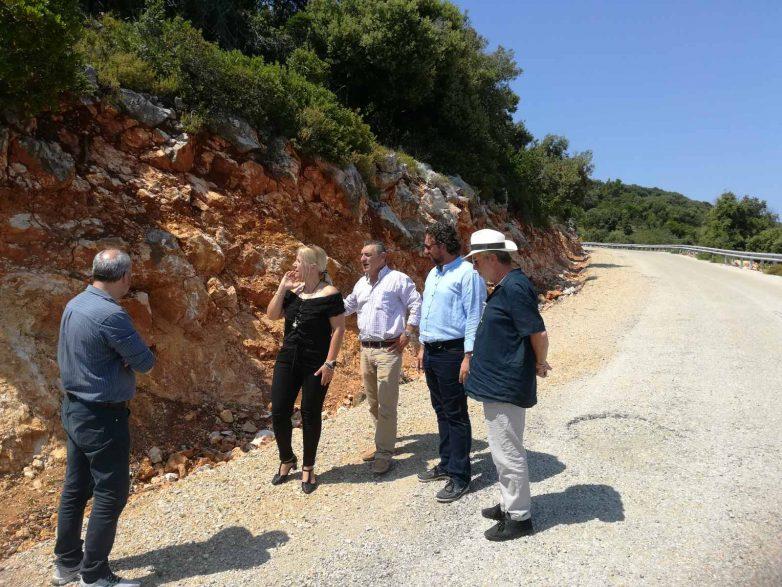 Αυτοψία στα έργα της Αλοννήσου η αντιπεριφερειάρχης ΠΕΜΣ