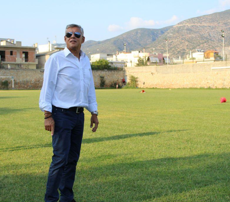 Νέες εργασίες στο γήπεδο της Νίκης Βόλου «Παντελής Μαγουλάς»