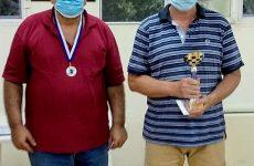Πρωταθλητής Θεσσαλίας στο σκάκι ο Μιχ. Αγγελής