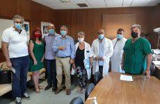 Συνάντηση Αθανάσιου Λιούπη με τη διοίκηση του Νοσοκομείου Βόλου