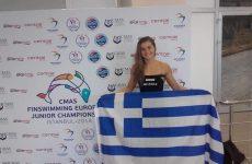 Στην Εθνική ομάδα Γυναικών Τεχνικής Κολύμβησης η Ελευθερία Στάμου