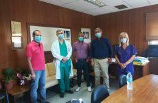 Σύσκεψη εργασίας Αλ. Μεϊκόπουλου με την διοίκηση και θεσμικούς φορείς του Νοσοκομείου Βόλου