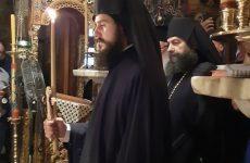 Νέος μοναχός στην μονή Αγίου Παντελεήμονος Αγιάς
