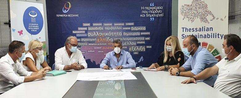 Υπογράφηκε η σύμβαση για την κατασκευή του παραλιακού άξονα Θεσσαλίας Κεραμίδι-Ρακοπόταμος