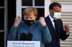 Μήνυμα Μέρκελ – Μακρόν για Ανατ. Μεσόγειο: Σεβασμός στην κυριαρχία των κρατών της Ε.Ε.