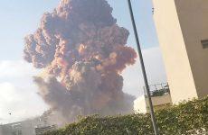 Ισχυρή έκρηξη συγκλόνισε τη Βηρυτό