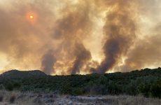 Φωτιά σε χαμηλή βλάστηση στον Αλμυρό