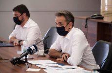 Κυρ. Μητσοτάκης από Εύβοια: Ταχύτατα οι αποζημιώσεις για τους πληγέντες