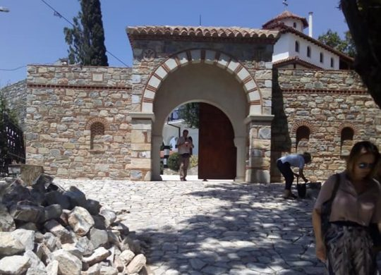Συντηρεί την μονή Παναγίας Οδηγήτριας στην Πορταριά Πηλίου η Περιφέρεια Θεσσαλίας