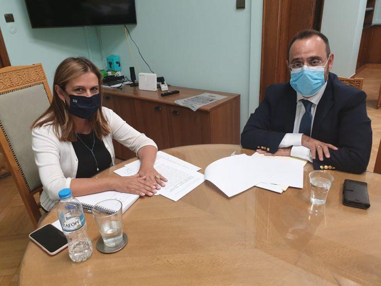 Συνεργασία Κων. Μαραβέγια με την υφυπουργό και τον γενικό γραμματέα του Υπουργείου Υγείας