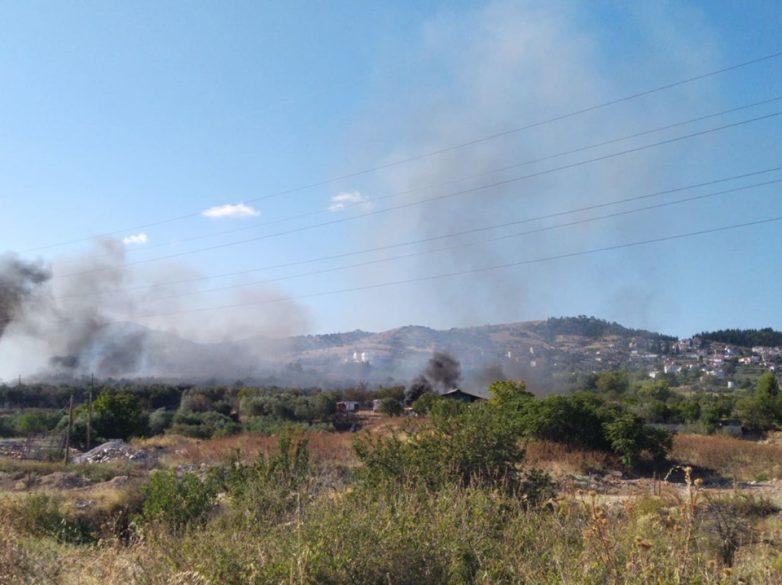 Δύο φωτιές σε Αλμυρό και Ν. Αγχίαλο