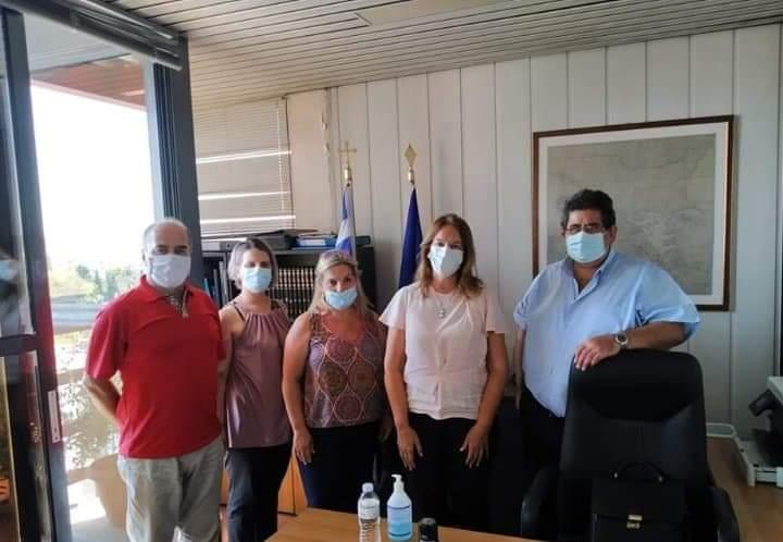 Επίσκεψη Κατερίνας Παπανάτσιου στη Διεύθυνση Β'/θμιας Εκπαίδευσης Μαγνησίας