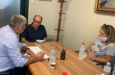 Συναντήσεις εργασίας δημάρχου Ν. Πηλίου με τους προϊσταμένους εκπαίδευσης Μαγνησίας