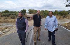Ο Αλ. Μεϊκόπουλοςγια τις καταστροφές στον Αλμυρό από τον Ιανό
