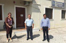 Συνάντηση με τον δήμαρχο Θοδωρή Τζούμα  είχε ο νέος διοικητής του Α.Τ. Σκιάθου Γρηγόρης Ακρίβος