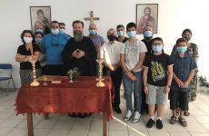 Αγιασμός στο Παράρτημα της Σχολής Βυζαντινής Μουσικής Αλμυρού