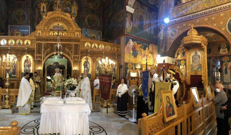 Παρεκκλήσιο του Αγίου Χρυσοστόμου Σμύρνης θα ανεγερθεί στην Ν. Ιωνία Μαγνησίας