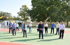 Παραδόθηκε το 1ο από τα τρία γήπεδα μπάσκετ Δήμου Ρήγα Φεραίου