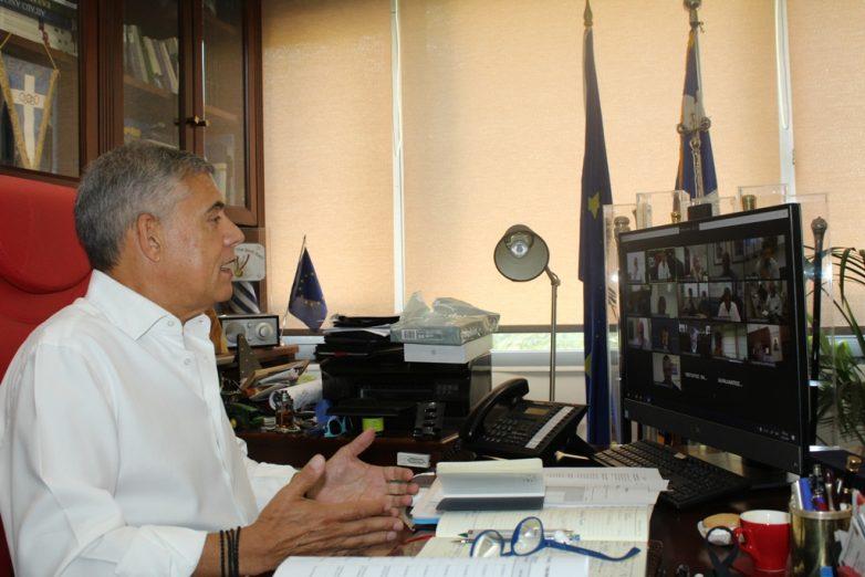 Υπόδειγμα στη διαχείριση της κρίσης του κορωναϊού  η Περιφέρεια Θεσσαλίας